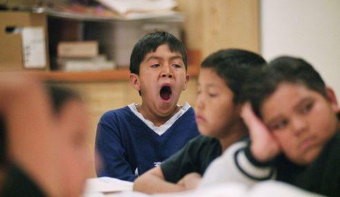 Murid Sekolah Rendah Singapura Tak Cukup Tidur