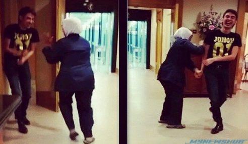 Video : Alamak.. Tunku Jalil Kena Pukul Dengan Jururawat?