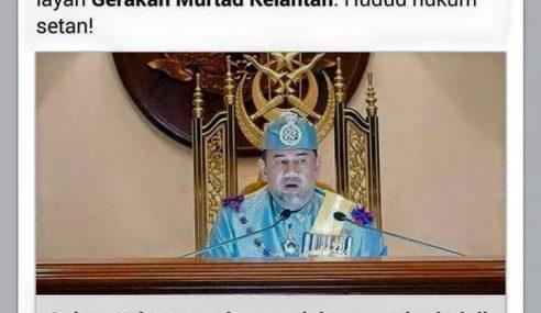 Marahkan Hudud, Si Murtad Ini Seranah Sultan Kelantan!
