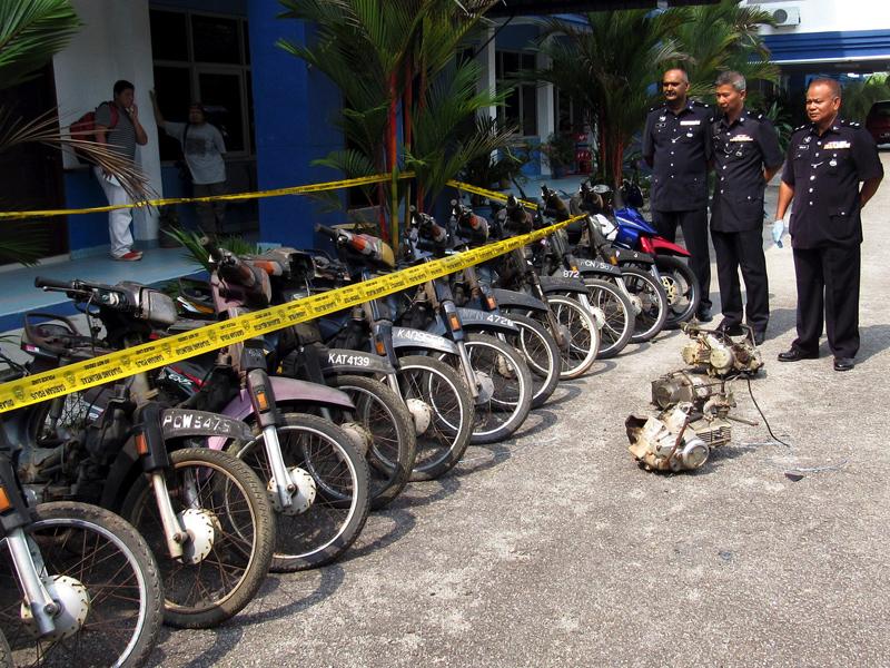 Polis Tumpaskan Aktiviti Pecah Rumah, Ketum Dan Curi Motosikal