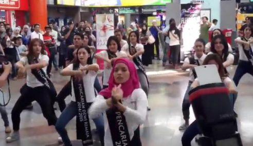 VIDEO: Aksi Dewi Remaja Pakai Tudung Tapi Berjoget Sakan