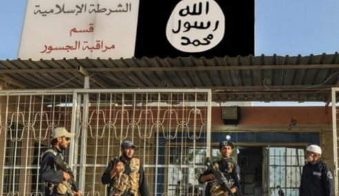 95 Tahanan Larikan Diri Dari Penjara IS