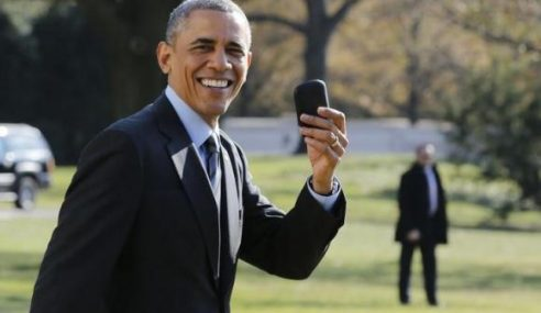 Presiden AS Tidak Miliki Telefon Pintar