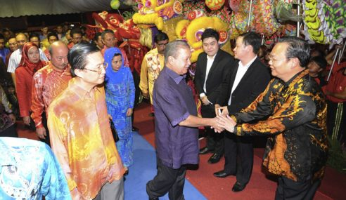 Sultan Johor Berkenan Rasmi Majlis Chap Goh Mei