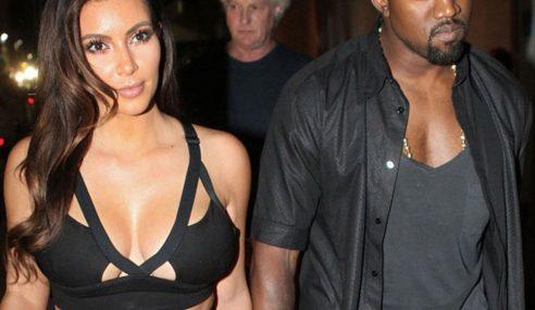 Kanye West Kongsi Gambar Separuh Bogel Isterinya Di Twitter