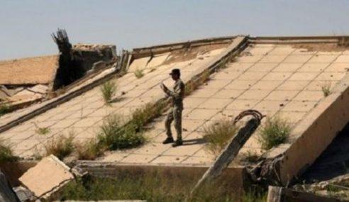 Makam Saddam Hussein Musnah Dibedil Daesh