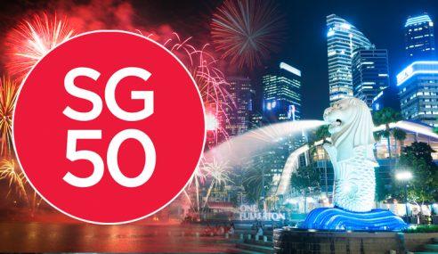 Singapura Cuti Panjang Sempena Rai 50 Tahun Hari Merdeka