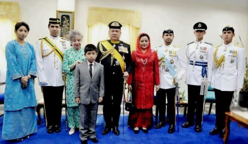 Istiadat Kemahkotaan Sultan Johor Penuh Unsur Budaya
