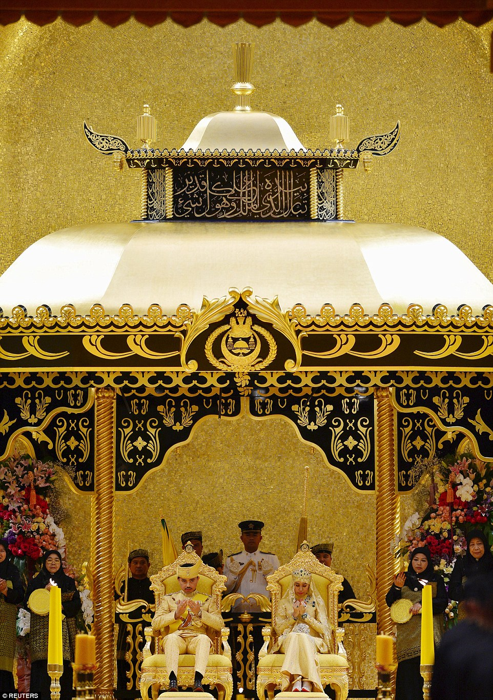 GAMBAR: Majlis Persandingan Diraja Anak Sultan Brunei