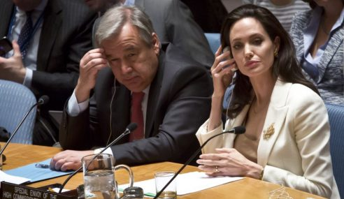 Gagal Bendung Perang Di Syria, Angelina Jolie Kutuk PBB