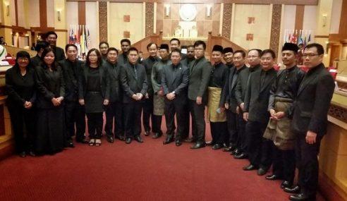 Pakaian Serba Hitam: Dewan Negara Perak Suarakan Teguran