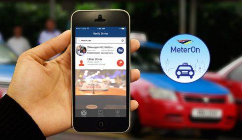 Aplikasi MeterOn Beri Anggaran Tambang Teksi – SPAD