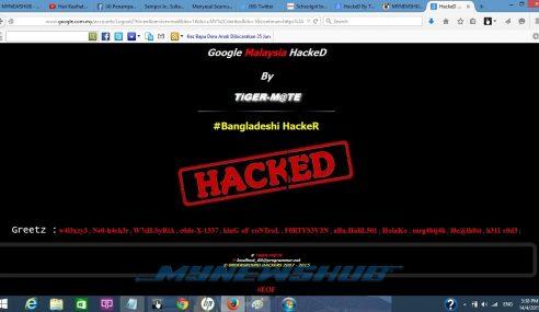 Google Malaysia Digodam Oleh Hacker Bangladesh