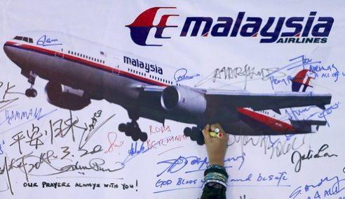 MH370: Lima Sekeluarga Failkan Saman Terhadap MAS