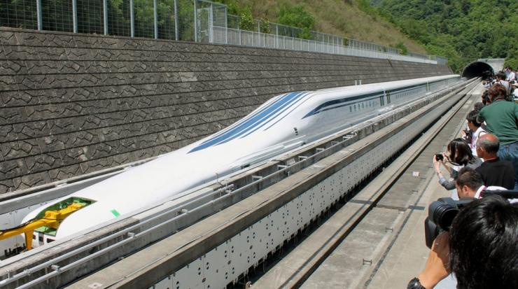 Tren Maglev Cipta Rekod Baharu Kelajuan 600km Sejam