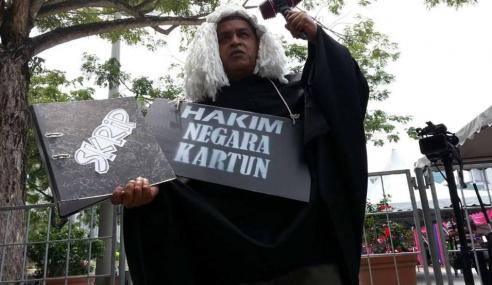 Baru Selesai Bayar Ikat Jamin, Zunar Ditahan Sekali Lagi