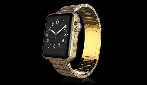 Apple Watch Diamond Ecstasy, Buat Anda Yang Terlajak Kaya