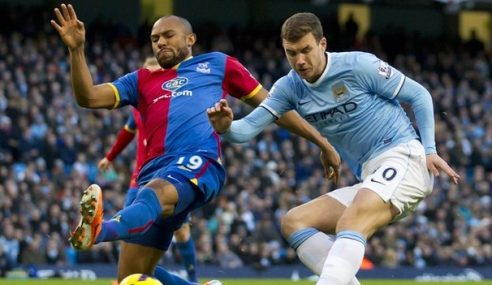 Man City Kalah Mengejut 1-2 Kepada Crystal Palace