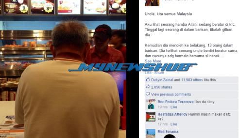 Kisah Di KFC Yang Akan Membuka Mata Rakyat Malaysia