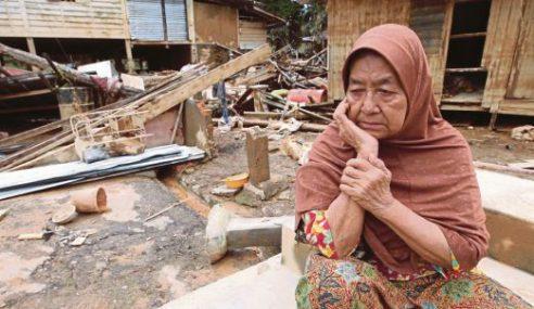 Mangsa Banjir Rayu Rumah Kekal Disiapkan Sebelum Raya