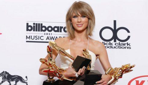 Taylor Swift Masuk Senarai World's 100 Most Powerful Women