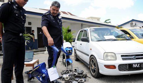 Kumpulan Curi Motosikal 'Geng Piloy' Tumpas