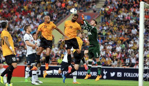 Tottenham Hotspurs FC Kalahkan Pilihan Malaysia 2-1