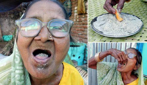 Nenek Usia 92 Tahun Gemar Makan Pasir Setiap Hari