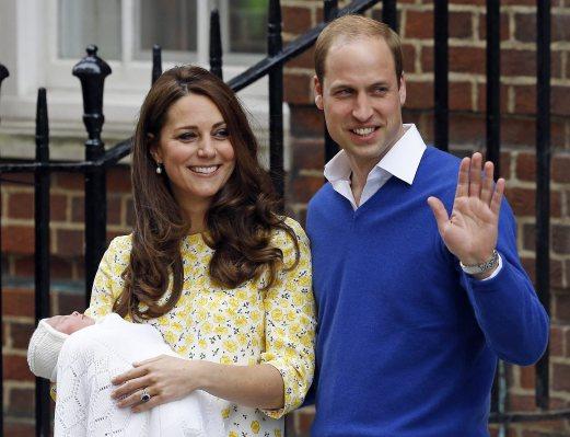 Puteri Baharu Britain Dinamakan Charlotte Elizabeth Diana