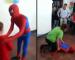 VIDEO: Alamak.. Spiderman Pengsan Sebab Silap Lompat!