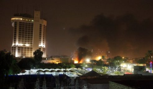 5 Maut Bom Kereta Gegarkan 2 Hotel Di Baghdad