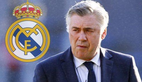 Real Madrid Pecat Pengurus, Carlo Ancelotti