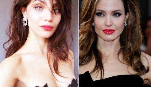 Model Ini Sering Disalah Anggap Sebagai Angelina Jolie..