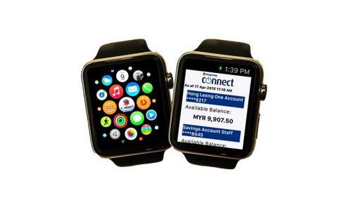 Aplikasi Perbankan Malaysia Pertama Untuk Apple Watch