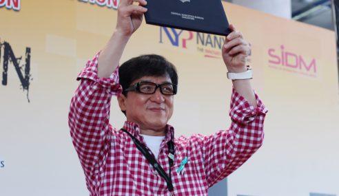 Jackie Chan Dilantik Duta Selebriti Antidadah Singapura