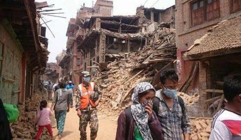 89 Rakyat Asing Hilang Selepas Gempa Bumi Kuat Di Nepal