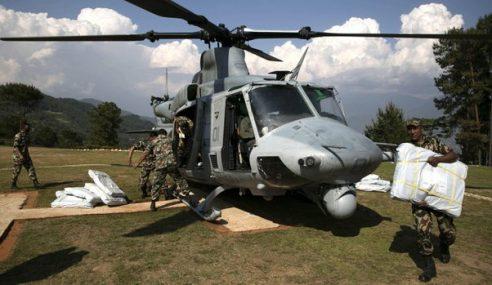 Helikopter AS, 8 Kru 'Ghaib' Ketika Gempa Terbaharu Nepal