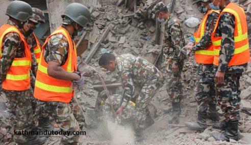 Gempa Nepal: Pasukan SAR Asing Dihantar Pulang