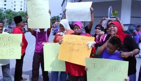 Peserta Anti Salib Taman Medan Tak Perlu Ditahan – KDN