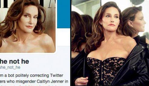 Silap Sebut Jantina Caitlyn Jenner, Pengguna Twitter Akan Ditegur