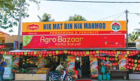 Agrobazaar Kedai Rakyat Di Terengganu Catat Jualan RM4.4 Juta