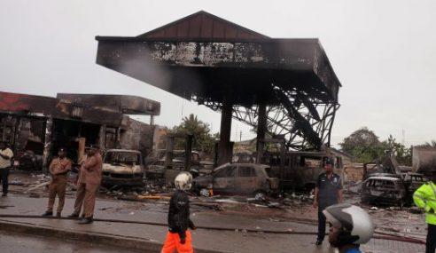 Sekurang-Kurangnya 150 Maut Stesen Minyak Terbakar Di Ghana