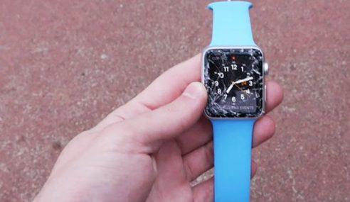 Apa Yang Terjadi Sekiranya Apple Watch Edisi Sport Terjatuh