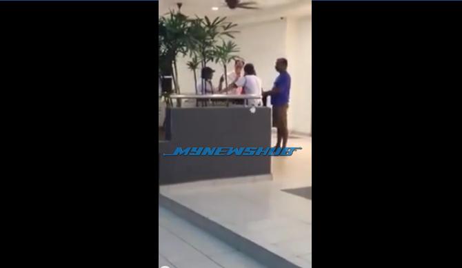 """Video: Drama Waktu Berbuka, Aunty """"Kerek"""" VS Mak Guard"""