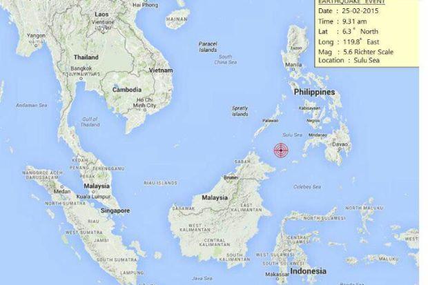 Gempa Bumi Sederhana 5.9 Landa Sabah