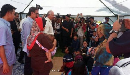 Meskipun Sibuk, Najib Tetap Ada Aura Di Sabah