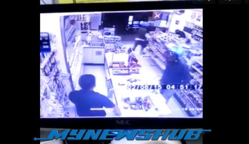 Video: Mangsa Ditetak Dalam Kejadian Samun Di 7-Eleven