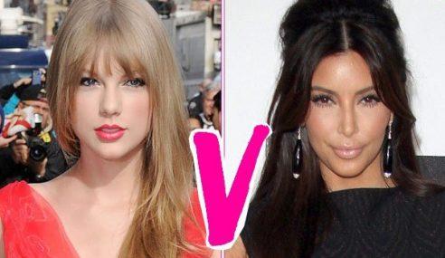 Kim Kardashian Nafi Ejek Taylor Swift Di Twitter