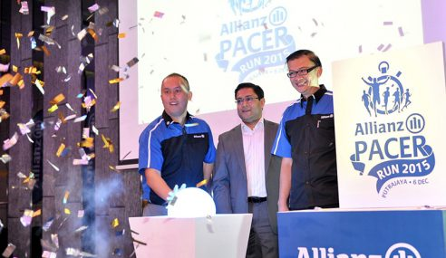 Larian 'Allianz Pacer Run 2015' Sasar 4,000 Peserta