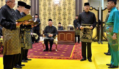 Menteri, Timb. Menteri Baharu Angkat Sumpah Jawatan